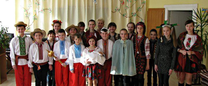 Постановка п'єси «Марко з Котигорошівки»