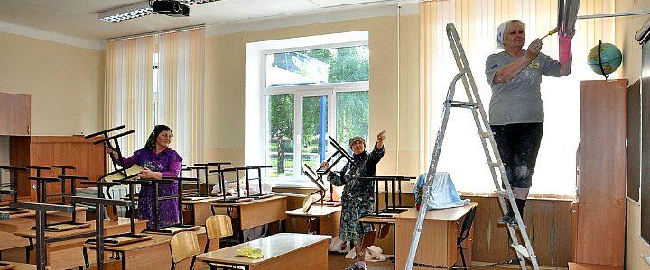 У школі тривають ремонтні роботи